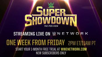 WWE Network Super ShowDown Pay-Per-View TV Spot, 'Goldberg vs. The Undertaker' - Thumbnail 8