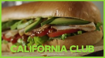 Subway California Club TV Spot, 'Life is Full of Flavor'