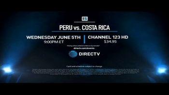 DIRECTV TV Spot, 'Integrated Sports: Peru vs. Costa Rica' - Thumbnail 10