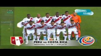 DIRECTV TV Spot, 'Integrated Sports: Peru vs. Costa Rica' - Thumbnail 4