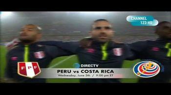 DIRECTV TV Spot, 'Integrated Sports: Peru vs. Costa Rica' - Thumbnail 6