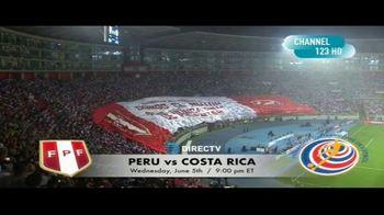 DIRECTV TV Spot, 'Integrated Sports: Peru vs. Costa Rica' - Thumbnail 8