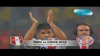 DIRECTV TV Spot, 'Integrated Sports: Peru vs. Costa Rica' - Thumbnail 9