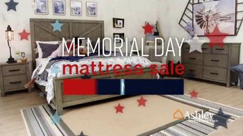 Ashley HomeStore Memorial Day Mattress Sale TV Spot, 'Extended: Any Size for a Twin' Song by Midnight Riot - Thumbnail 2