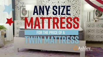 Ashley HomeStore Memorial Day Mattress Sale TV Spot, 'Extended: Any Size for a Twin' Song by Midnight Riot - Thumbnail 5