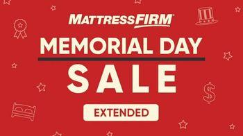 Mattress Firm Memorial Day Sale TV Spot, 'Extended: King for a Queen' - Thumbnail 1
