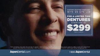 Aspen Dental TV Spot, 'A.J.'s Denture Story' - Thumbnail 8