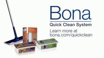 Bona Quick Clean System TV Spot, 'Relax and Enjoy' - Thumbnail 8