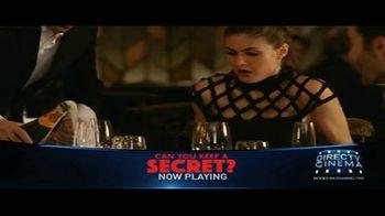 DIRECTV Cinema TV Spot, 'Can You Keep a Secret?' - Thumbnail 6