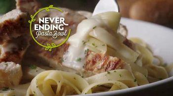 Olive Garden Never Ending Pasta Bowl TV Spot, 'It's All Never Ending' [Spanish] - Thumbnail 1