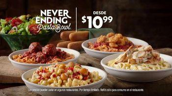 Olive Garden Never Ending Pasta Bowl TV Spot, 'It's All Never Ending' [Spanish] - Thumbnail 9