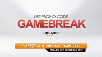 Amazon Fire HD 8 Tablet TV Spot, 'Game Break' - Thumbnail 4