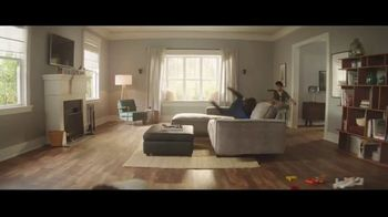 Lumber Liquidators Fall Flooring Kickoff TV Spot, 'Living Room: Waterproof Vinyl Plank' - Thumbnail 1
