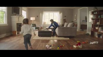 Lumber Liquidators Fall Flooring Kickoff TV Spot, 'Living Room: Waterproof Vinyl Plank' - Thumbnail 2