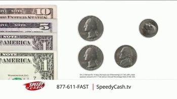 Speedy Cash TV Spot, 'Get You By: $100 for $17.65'