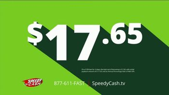 Speedy Cash TV Spot, 'Get You By: $100 for $17.65' - Thumbnail 2
