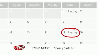 Speedy Cash TV Spot, 'Get You By: $100 for $17.65' - Thumbnail 6