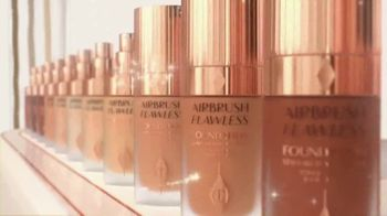 Charlotte Tilbury Airbrush Flawless Foundation TV Spot, '44 Shades' Song by George Michael - Thumbnail 7