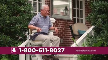 Acorn Stairlifts TV Spot, 'Safely Ride' - Thumbnail 3