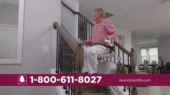 Acorn Stairlifts TV Spot, 'Safely Ride' - Thumbnail 4