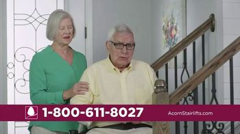 Acorn Stairlifts TV Spot, 'Safely Ride' - Thumbnail 5