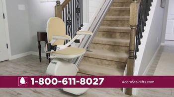 Acorn Stairlifts TV Spot, 'Safely Ride' - Thumbnail 6