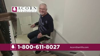 Acorn Stairlifts TV Spot, 'Safely Ride'