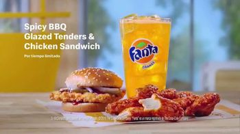McDonald's Spicy BBQ Glazed Tenders & Chicken Sandwich TV Spot, '¡Te hace decir woo!' [Spanish] - Thumbnail 2