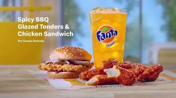 McDonald's Spicy BBQ Glazed Tenders & Chicken Sandwich TV Spot, '¡Te hace decir woo!' [Spanish]