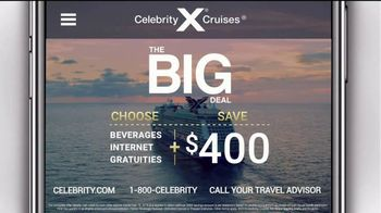 Celebrity Cruises The Big Deal TV Spot, 'Best of Europe: $400' - Thumbnail 9