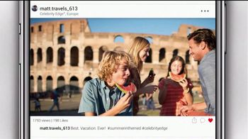 Celebrity Cruises The Big Deal TV Spot, 'Best of Europe: $400' - Thumbnail 2