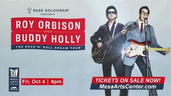 Roy Orbinson and Buddy Holly: The Rock'N' Roll Dream Tour TV Spot, '2019 Mesa Arts Center' - Thumbnail 10