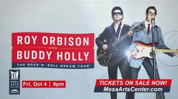 Roy Orbinson and Buddy Holly: The Rock'N' Roll Dream Tour TV Spot, '2019 Mesa Arts Center' - Thumbnail 5