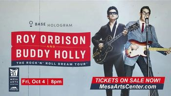 Roy Orbinson and Buddy Holly: The Rock'N' Roll Dream Tour TV Spot, '2019 Mesa Arts Center' - Thumbnail 6