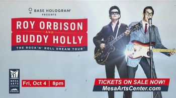 Roy Orbinson and Buddy Holly: The Rock'N' Roll Dream Tour TV Spot, '2019 Mesa Arts Center' - Thumbnail 9