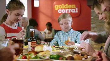 Golden Corral Carved NY Strip + Butterfly Shrimp TV Spot, 'Real New Yorker'