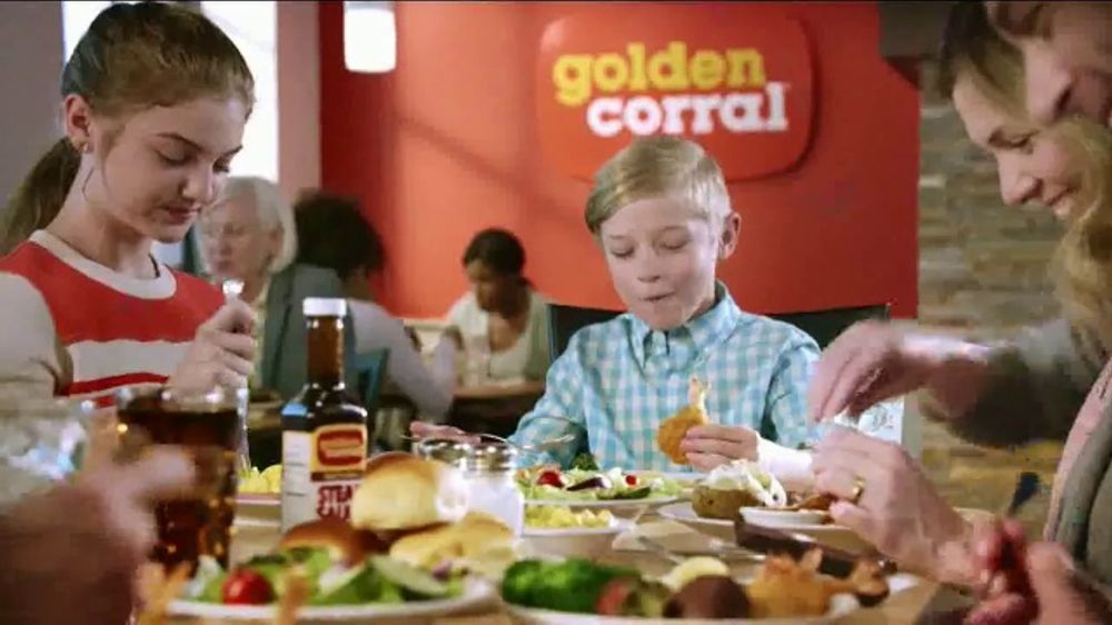 Golden Corral Carved NY Strip + Butterfly Shrimp TV Commercial, 'Real New Yorker'