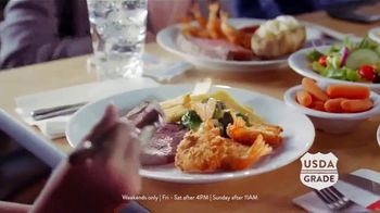 Golden Corral Carved NY Strip + Butterfly Shrimp TV Spot, 'Real New Yorker' - Thumbnail 2