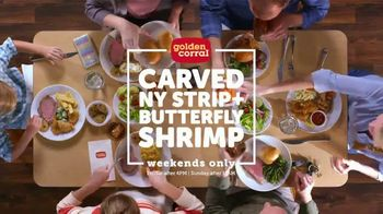 Golden Corral Carved NY Strip + Butterfly Shrimp TV Spot, 'Real New Yorker' - Thumbnail 7