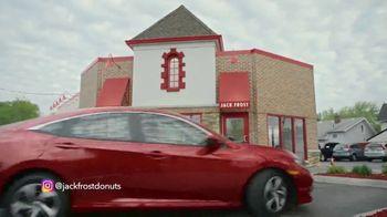 2019 Honda Civic TV Spot, 'Jack Frost Donuts' [T2] - Thumbnail 2