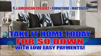 American Freight Multi-Million Dollar Furniture Buyout TV Spot, 'Take It Home Today: Zero Down' - Thumbnail 8