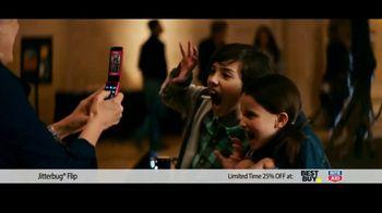 JitterBug Flip TV Spot, 'Dinosaur Museum: Grandparents Day: 25% Off'  Featuring John Walsh