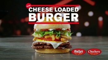 Checkers & Rally's Cheese Loaded Burger TV Spot, 'Cheese Overload: Postmates' - Thumbnail 2