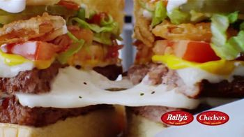 Checkers & Rally's Cheese Loaded Burger TV Spot, 'Cheese Overload: Postmates' - Thumbnail 4