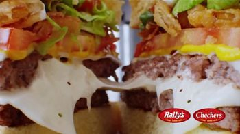 Checkers & Rally's Cheese Loaded Burger TV Spot, 'Cheese Overload: Postmates' - Thumbnail 8