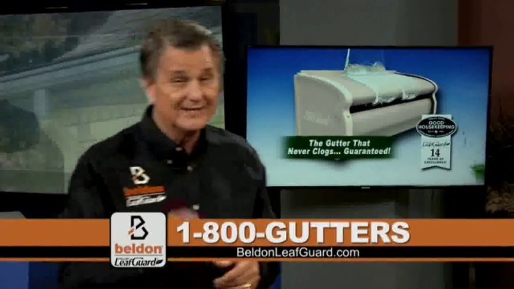 Beldon LeafGuard TV Commercial, 'Sharp Edges and Rusty Nails'