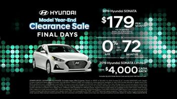 Hyundai Model Year-End Clearance Sale TV Spot, 'Last Chance to Save' [T2] - Thumbnail 3