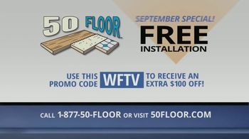 50 Floor September Special TV Spot, 'Orlando: Free Installation' - Thumbnail 10