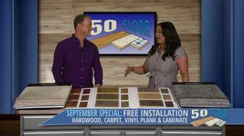 50 Floor September Special TV Spot, 'Orlando: Free Installation' - Thumbnail 3
