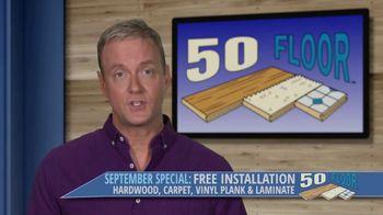 50 Floor September Special TV Spot, 'Orlando: Free Installation' - Thumbnail 6